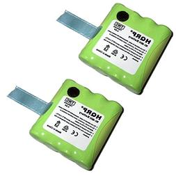 HQRP TWO Rechargeable Batteries for MIDLAND LXT-376 / LXT376
