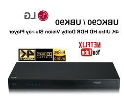 LG UBKC90 / UBK90 4K Ultra HD Blu-ray Player Dolby Vision Mu