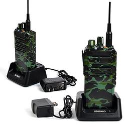 TWAYRDIO 25W UHF 400-480MHz Handheld Two Way Radios High Pow