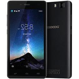 """Unlocked Cell Phones, DOOGEE X5 Dual Sim Smartphones - 5.0"""""""