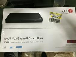 LG UP870 4K Ultra High Definition Blu-Ray Player 3D DVD CD P