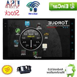 "US Eincar Android 6.0 7"" 2Din InDash Car no DVD Radio Stereo"