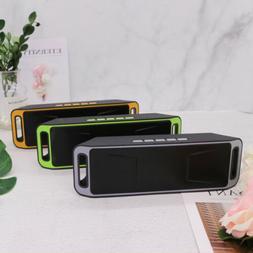 US Portable Wireless Bluetooth Speaker USB Flash FM Radio St