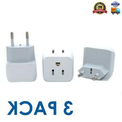 European Travel Plug Adapter, Ceptics Europe Power Adaptor C