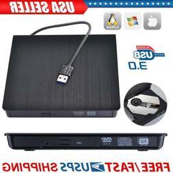 USB 3.0 External DVD Drive Portable External Optical Drive C