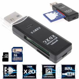 USB 3.0 High Speed Micro SD SDXC TF T-Flash Memory Card Read