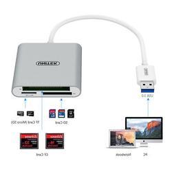 UNITEK USB 3.0 Compact Flash Multi Memory Card Reader Micro