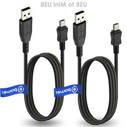 2 x pcs T-Power USB Cable for Sony MP3/MP4 Player NWZ NW PMX