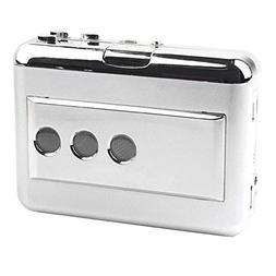 USB Cassette Converter with Audio Input Capture Analog Music