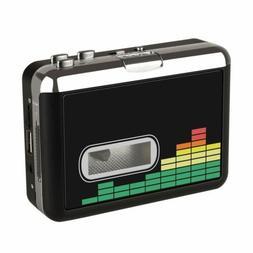 USB Cassette Player Tape to MP3 Converter Portable Audio Mus