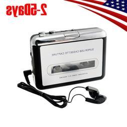USB Cassette Tape to MP3 iPod CD Converter Capture Audio Mus