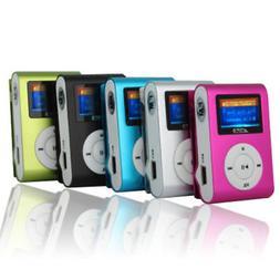 USB Digital Mp3 Music Player Clip Portable Support 2-32GB Mi