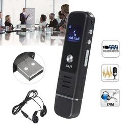 USB Flash Drive Rechargeable Digital Voice Recorder + Free 3