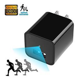 USB Plug Hidden Camera Charger Adapter-Full HD 1080P Motion