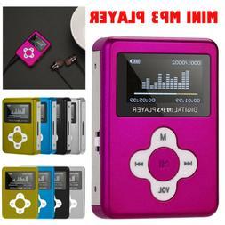 USB2.0/1.1 Mini MP3 Music Player LCD Screen Support 32GB Mic