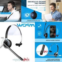 Mpow V4.1 Bluetooth Headset Truck Driver Headset Wireless Ov