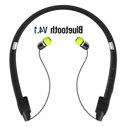 SUPERSUN V4.1 Bluetooth Headset, Bluetooth Neckband Headphon