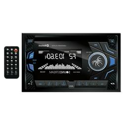 Soundstream VM-22B Double DIN Bluetooth Digital Media Car St