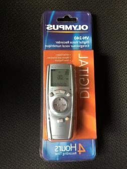 Olympus VN-240 Digital Voice Recorder MPN 141722, factory se