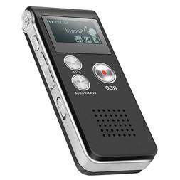 Digital Voice Recorder Dictaphone Audio Sound Recorder Mini