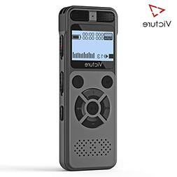 Victure Digital Voice Recorder 8GB 1536Kbps USB Professional
