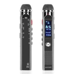 Digital Voice Recorder Portable Audio Recording Microphone D
