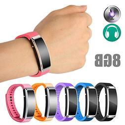 Digital 4GB/8GB Voice Recorder Wristband Bracelet USB Sound