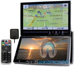 "Soundstream VRN-DD7HB Dual 7"" Displays w/ GPS/Nav/DVD/Blueto"