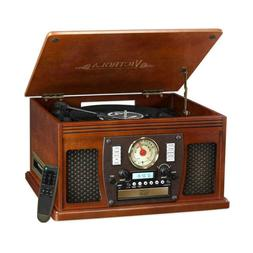 Victrola VTA-600BMH 7-In-1 Record Player With Bluetooth & US