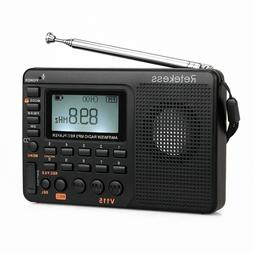 Portable FM/AM/SW Radios World Band Bass Stereo MP3 Player R