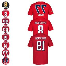 Washington Capitals NHL Reebok Player Name & Number Premier