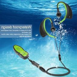 Waterproof 8GB MP3 Music Player + 3.5mm Earphone for Underwa