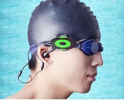 4GB Waterproof MP3 Player & Earphones with Built-In Support