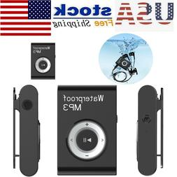 Waterproof Sports Swimming MP3 Player HiFi Stereo Music Walk