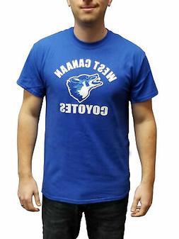 West Canaan Coyotes Jersey T-Shirt  Football Varsity Blues