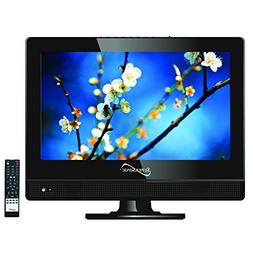 SuperSonic 13.3-Inch 1080p LED Widescreen HDTV HDMI AC/DC Co