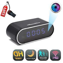 WiFi Clock Camera   GEAGLE 1080P HD WiFi Clock Hidden Spy Ca