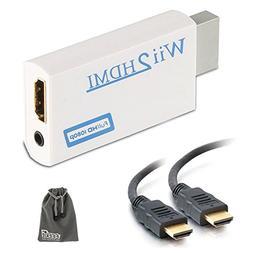 EEEKit Wii To HDMI 720P 1080P Converter Adapter Full HD Vide