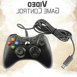 For Wired XBOX 360 USB Remote Video Game Controller Pad PC W