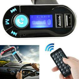 Wireless Bluetooth FM Transmitter MP3 Player Car Kit Charger