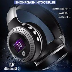 Wireless Bluetooth Headphones with Noise Cancelling Over-Ear