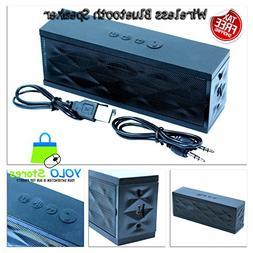 Wireless Bluetooth Speaker Boombox Stereo Speakers Radio FM