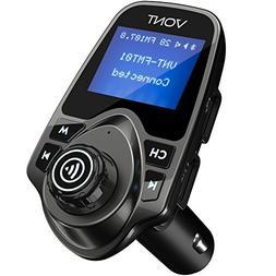 Vont Wireless Bluetooth FM Transmitter for Car, Immediate Bl