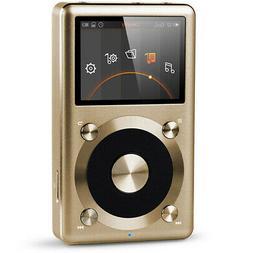 FiiO X3 2nd Gen Portable High Resolution Audio Player Gold H