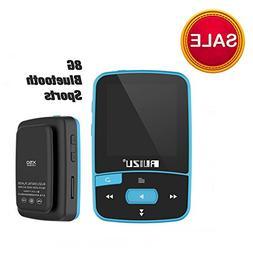 RUIZU X50 8GB Bluetooth MP3 Music Player Sports Clip Sweat-p