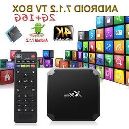 X96 Mini TV Box Android 7.1.2 S905W Quad Core WiFi HD 2GB +