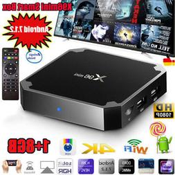 X96mini Smart Android 7.1 TV Box S905W Quad Core H.265 1G 8G