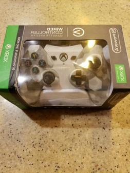 PowerA Xbox One Wired Remote Controller Arctic White Camo