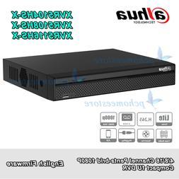 Dahua XVR5104//5108//5116HS-X 4//8//16CH HDCVI//AHD//TVI//CVBS//IP 5in1 1080P DVR H.265+