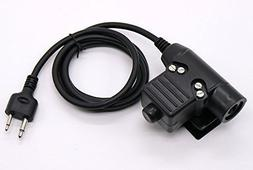 WishRing Z-Tactical Z113 U94 PTT Military Adapter PTT for IC